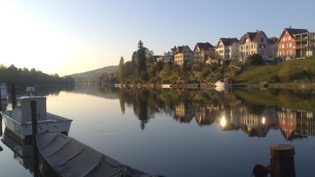 Ufer am Morgen 2