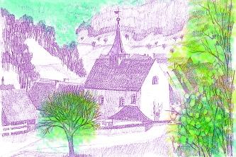 Projekt Postkarten koloriert